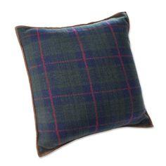 Orvis Winter Plaid Fleece Pillow, Navy Orvis29$
