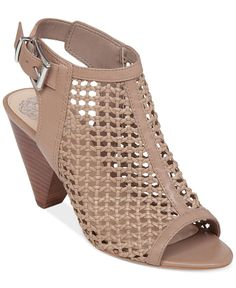 """Keep your look trendy and chic with the Emilla dress sandals by Vince Camuto. 