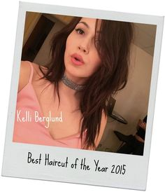 Best Haircut of the Year of the Year goes to the amazing Kelli Berglund for the 2015 style awards. I completely agree! <3