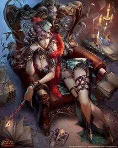 The world of fantasy can be light and dark. The melding of the two worlds is what makes art so beautiful.