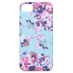 Pastel Vintage Floral Pattern, iPhone 5/5s iPhone 5/5S Cover