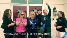 Woodall's Fitness and Performance Center Ribbon Cutting Ceremony in Clay...