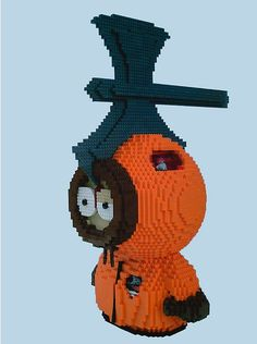 blxbrx (=black's bricks) blog: Who killed Kenny from South Park? DM Meister has re-built him (in LEGO)