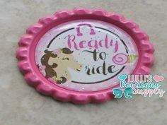 Ready To Ride Finished BottleCap