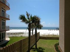 Green grass, white sand, blue gulf water . . . and even palm trees! This ideal combination for relaxation can be found at Four Seasons A 201E in Orange Beach, AL. Balcony access from the living room and king master bedroom plus atrium skylight in the master bath bring the outdoors inside. Indoor and outdoor pools, sauna, exercise room and pier make this your special #vacation place that you'll return to year after year. Learn more & book today…