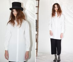 BLACK AND WHITE  #cuculab #fallwinter #woman #casual  Look here http://www.cuculab.it/eshop.php