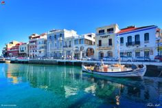 Agios Nikolaos, Crete Wonderful Places, Beautiful Places, Paradise On Earth, My Town, Travelogue, Greek Islands, Holiday Destinations, Places To Visit, Adventure