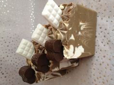 Cold Process Soap Vegan - Choco-Nilla
