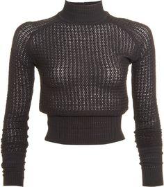 Alexander Wang Sweaters and pullovers for Women Turtleneck Bodysuit, Long Sleeve Turtleneck, Turtleneck Top, Sweater Cardigan, Men Sweater, Blazer Outfits, Alexander Wang, Turtle Neck, Pullover