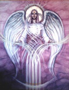 purple angel by kashaja9 on DeviantArt