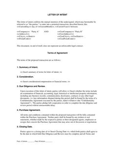 Sample Letter Of Intent Http://Www.Letter-Of-Intent.Org/Using-A