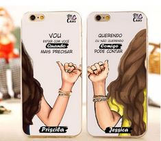 Julia Fernandes ❤❤ – Handyhülle – Phone case for girls Bff Cases, Cute Cases, Cute Phone Cases, Iphone Phone Cases, Phone Covers, Friends Phone Case, Friends Tv, Diy Phone Case, Best Friends