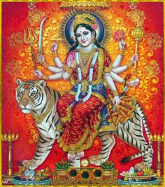 Maa Chandi is the total energy of the universe. By doing Chandi Homam once a year one can become free from evil eyes and get supremacy power to fulfill all desire. Shiva Art, Ganesha Art, Hindu Art, Maa Durga Photo, Durga Kali, Lakshmi Images, Durga Images, Cosmic Egg, Mother Goddess