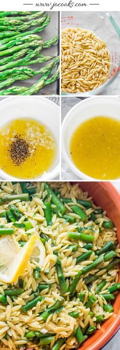 This recipe for Lemon Orzo with Asparagus is the perfect, elegant side dish to pair with your signature dinner entree. The bright citrus flavor is amplified thanks to lemon zest and juice—plus, it will help keep your menu fresh and delicious.