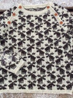 Ravelry: Moose Sweater pattern by Lone Kjeldsen Source by mahsaz Jumper Knitting Pattern, Jumper Patterns, Lace Knitting, Baby Knitting Patterns, Skirt Pattern Free, Fair Isle Knitting, Christmas Knitting, Crochet Christmas, Knitting For Kids