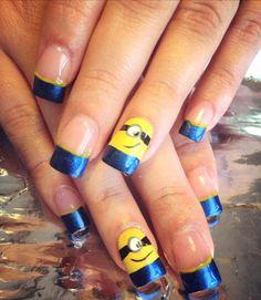 Acrylic nails by Mari