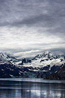 Kar, Dağ, Doğa, Beyaz, Siyah, Kış