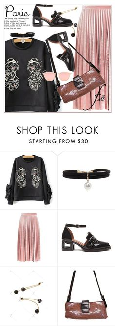 """""""I Love Paris in the Fall 2"""" by paculi ❤ liked on Polyvore featuring Topshop, Fendi and fallgetaway"""