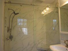 skyline frameless shower door