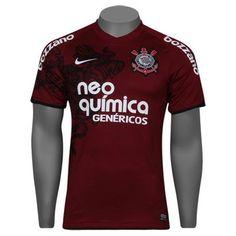 49e595cf3d Camisa Nike Corinthians III 2012 s nº - Torcedor. Deckmann Douglas · Camisas  de futebol clássicas