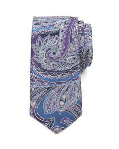 GOSPORT | Paisley silk tie - Blue | Ties Bow Ties | Ted Baker