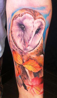 Tattoo Artist - Matt Oddboy - animal tattoo   www.worldtattoogallery.com