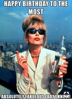 """91 Sister Birthday Memes - """"Happy birthday to the most absolutely fabulous lady I know! Happy Birthday Crazy Lady, Happy Birthday Email, Happy Birthday Little Sister, Sister In Law Birthday, Happy Birthday Minions, Card Birthday, Birthday Greetings, Birthday Ideas, Birthday Wishes"""