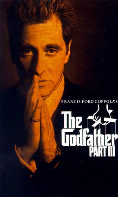 The Godfather ~Al Pacino & Robert Di Niro The Godfather Part Iii, Godfather 1, Al Pacino, Alfred Hitchcock, Gangster Movies, Vhs Movie, Movie List, Movie Posters, Flims