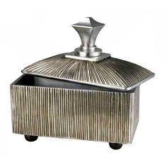 Ore International 12 Inch Bd Col. Silver Box K-4226-JX4 - Ore International 12 Inch Bd Col. Silver Box K-4226-JX4An intricately crafted decoration designed to bring an elegant sense to any setting. Place this unique centerpiece in any room to draw the attention and interest of everyone.SKU: K-4226-JX4Manufacturer: Ore InternationalFinish: SilverUPC: 854570008566Dimensions: 11.5 W x 6.5 D x 12 H Inches, Weight: 7 LbsCarton Dimensions: 14 W x 8 D x 10 H Inches, Weight: 9 LbsFeatures:  A…