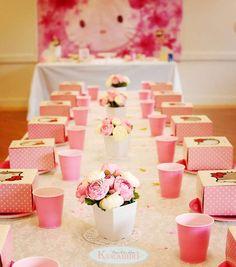Elizabeth's Hello Kitty Birthday Party | CatchMyParty.com