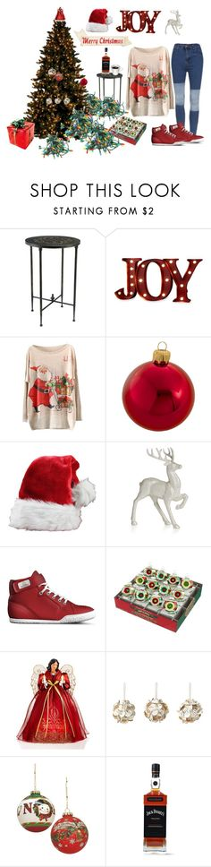 """""""Merry Christmas to All"""" by gabriele-bernhard ❤ liked on Polyvore featuring Bombay, Order Home Collection, Kurt Adler, Disney, Christopher Radko, Holiday Lane and Mark Roberts"""