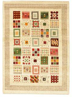 ギャッベ カシュコリ 絨毯 144x201