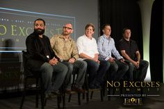 Experts of Experts Panel! No Excuses Summit 6 in 2015
