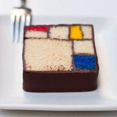 Modern Art Desserts #designeveryday