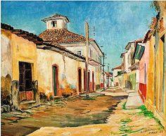 Paraty, 1963 Yoshiya Takaoka (Japão/Brasil, 1909-1978) óleo sobre tela, 50 x 60 cm