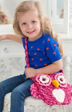 Owl Tote Bag free crochet pattern