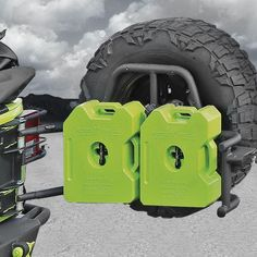 OR-Fab™ Swing-A-Way Tire with RotopaX™ Container Carrier for 07-up Jeep® Wrangler & Wrangler Unlimited JK