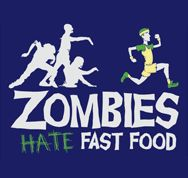 Running...helps you survive the zombipocalypse