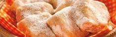 Ingredientes 1 pacote de Biscoito de Maisena TOSTINES® 1 lata de Leite MOÇA® 1 colher (sopa) de manteiga 5 colheres (sopa) de suco de tangerina meia colher (sopa) de raspas da casca de tangerina meia xícara (chá) de açúcar de confeiteiro