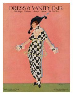 size: Premium Giclee Print: Vanity Fair Cover - November 1913 Art Print by Helen Dryden : Vanity Fair Magazine, Art Deco Vanity, Women Poster, Thing 1, Vogue Covers, Canvas Prints, Art Prints, Decoration, Cover Art