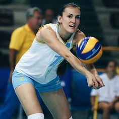 Photo credit • Get Sport Media ❤ • • #alenaivanova #volleyball  #volleyballkazakhstan #fivb  #volleyballplayer