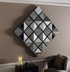 All mirrors - mirrors mirror art, buy mirror, wall art, wall, wall mural Mirror Shop, Funky Mirrors, Glass Mirrors, Large Mirrors, Wall Mirrors, Apartment Therapy, Consoles, Living Room Mirrors, Interiors