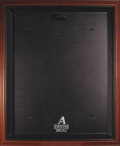 "Brown Framed Jersey Display Case with 2007 Arizona Diamondbacks Logo: ""Keep your valuable… #SportingGoods #SportsJerseys #SportsEquipment"