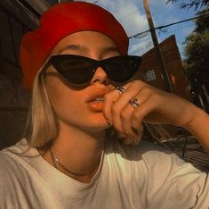 Women Sunglasses Cool Eyeglasses Cool Glasses For Women Red Glasses – hhshoop Look Fashion, Street Fashion, Fashion Beauty, Girl Fashion, Cat Eye Sunglasses, Sunglasses Women, Summer Sunglasses, Vintage Sunglasses, Celebrity Sunglasses
