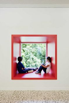 Childcare Centre Maria Enzersdorf / MAGK illiz | ArchDaily Think pods...casual meeting spaces