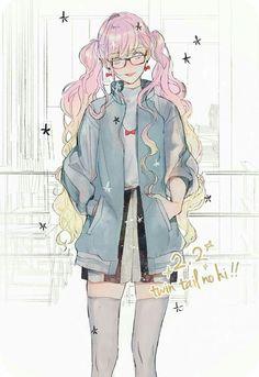 Anime girl ☔