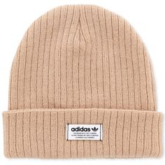 cd76da1ed09 adidas Wide-Ribbed Beanie (499.865 VND) ❤ liked on Polyvore featuring  accessories