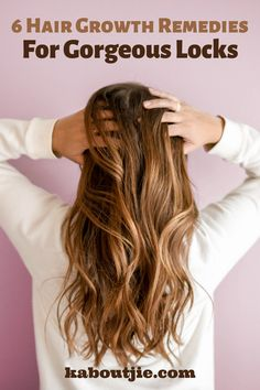 Whether your goal is to encourage hair growth or prevent hair loss, these fantastic hair growth remedies will help you to reach your hair goals.    #HairGrowth #Beauty #Hair Hair Remedies For Growth, Hair Loss Remedies, Wand Hairstyles, Cool Hairstyles, Postpartum Hair Loss, Regrow Hair, Natural Hair Styles, Long Hair Styles, Healthy Hair Growth