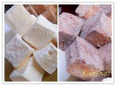 Pillecukor házilag Meringue Pavlova, Fudge, Dairy, Food And Drink, Cheese, Cookies, Sweet, Desserts, Marshmallows