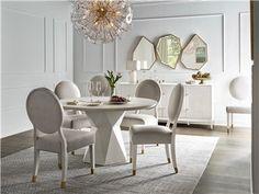 Love. Joy. Bliss.-Miranda Kerr Home Love Joy Bliss Oval Side Chair | Universal Furniture